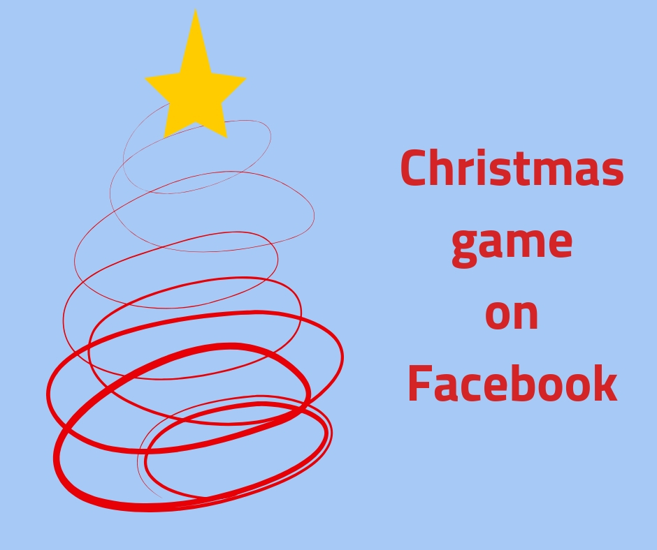 Interreg Christmas game on Facebook