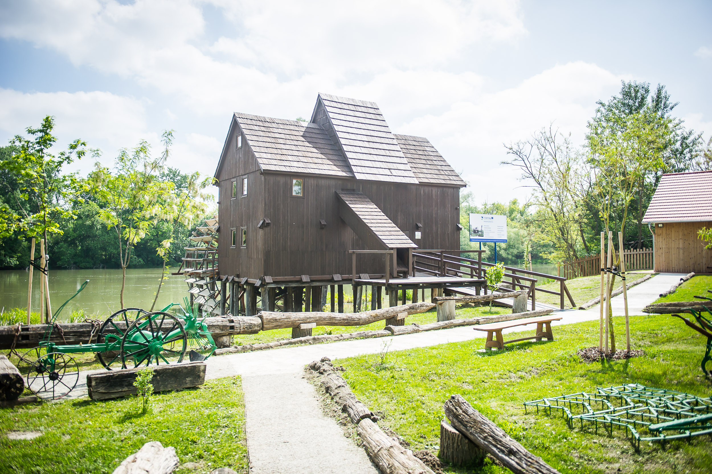 Water Mill and Open-Air Museum in Jelka is open for public